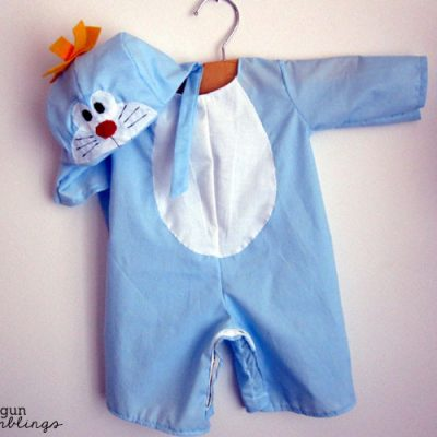 Show and Tell: Doraemon Costume aka the cutest thing I've ever made