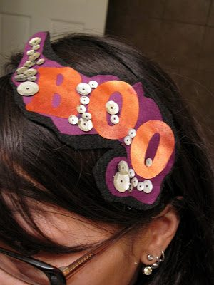 Tutorial: Boo Headband (easy and fast)