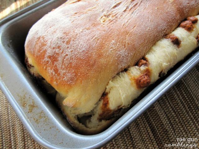 Knock-off recipe for The Great Harvest's famous cinnaburst bread - Rae GUn Ramblings