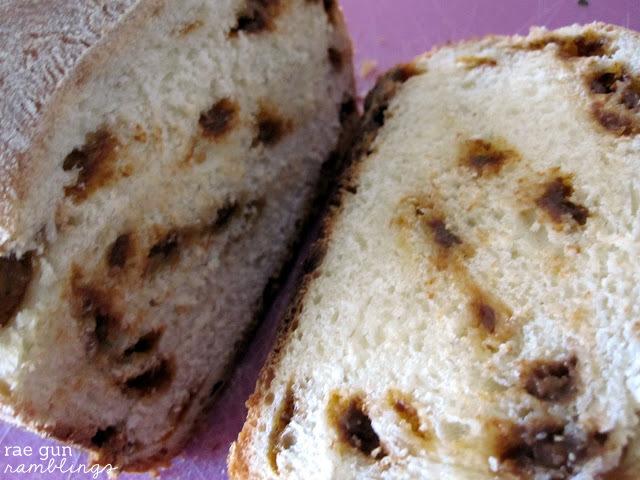 My go to breakfast bread. Tastes just like the cinnaburst bread from Great Harvest. REcipe at Rae GUn Ramblings
