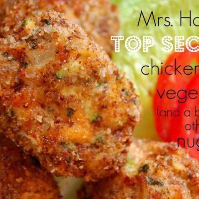 Guest Post: Chicken and Veggie Nugget Recipe