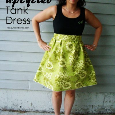 SONP Tutorial: Upcycled Shirt to Dress