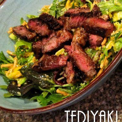 Recipe: Teriyaki Steak and Mango Salad