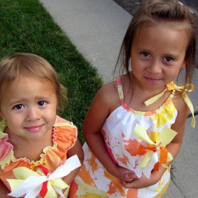 Tutorial: Painted Dresses