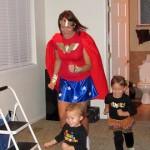DIY wonder women costume
