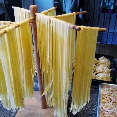 Recipe: Fresh Homemade Whole Grain Pasta