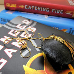 Hunger Games district 9 coal inspired necklace
