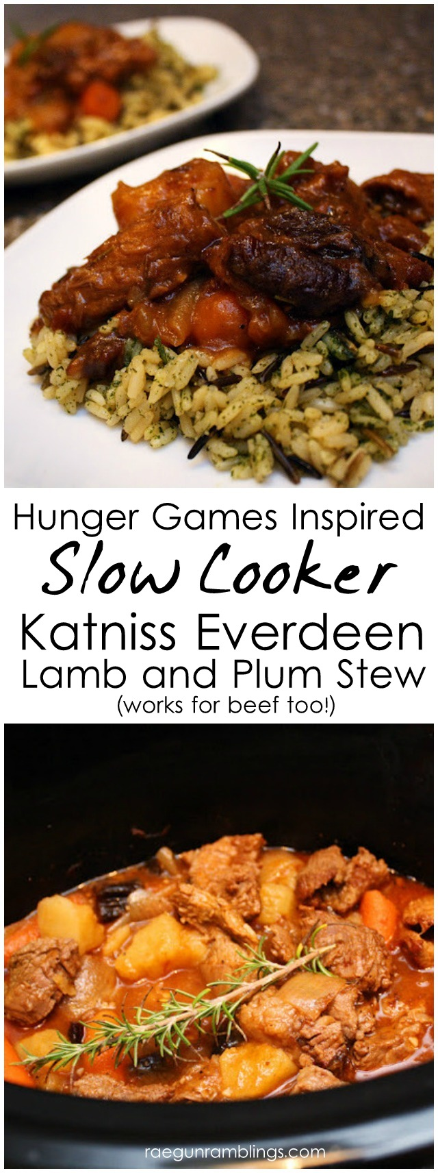 Crock Pot Recipe: Hunger Games Katniss Stew Lamb (or beef) and Plums - Rae Gun Ramblings