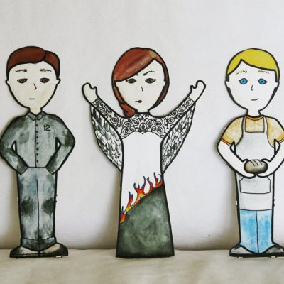 Giveaway: Hunger Games Paper Dolls