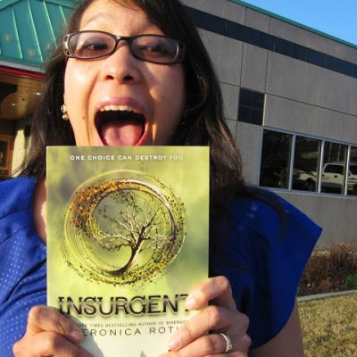 For the Love of Books, an Interview and an Insurgent Arc