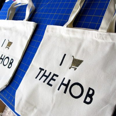 I Shop the Hob Hunger Games Bag Tutorial