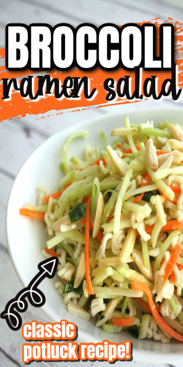New family favorite. Even the kids asked for more will be making this fast broccoli slaw recipe again. Perfect for lunch or dinner with a rotisserie chicken and great to make ahead for picnics and potlucks via @raegun