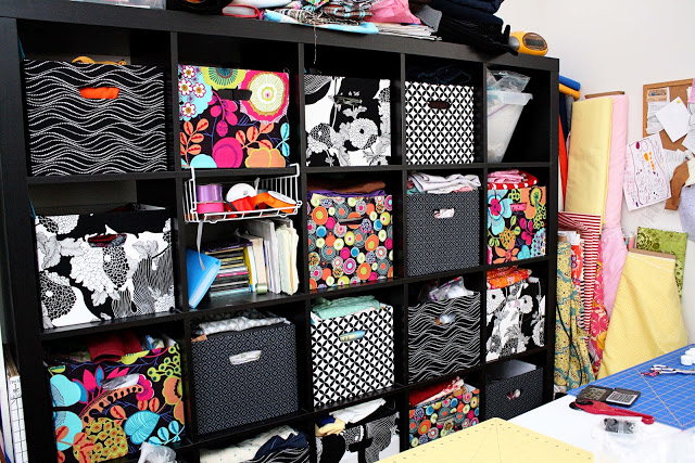 ikea expedit fabric covered boxes rae gun ramblings. Black Bedroom Furniture Sets. Home Design Ideas