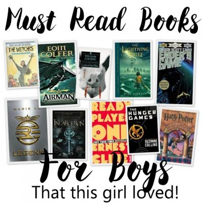 Books for Boys that this Girl Loved