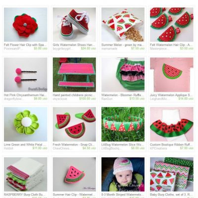 Treasury Love: Watermelon Days