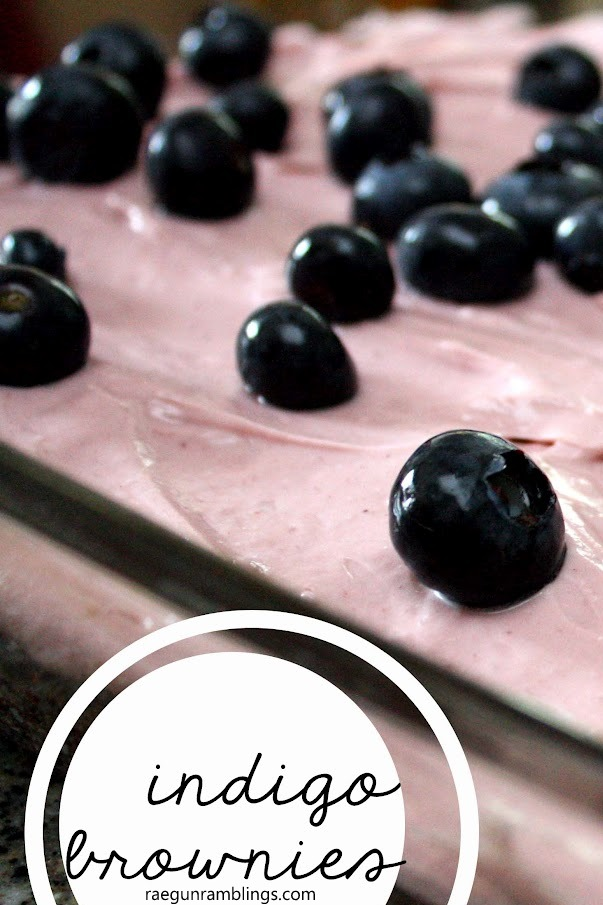 So good and so easy. Great for potlucks and BBQ's love this easy indigo berry brownie recipe