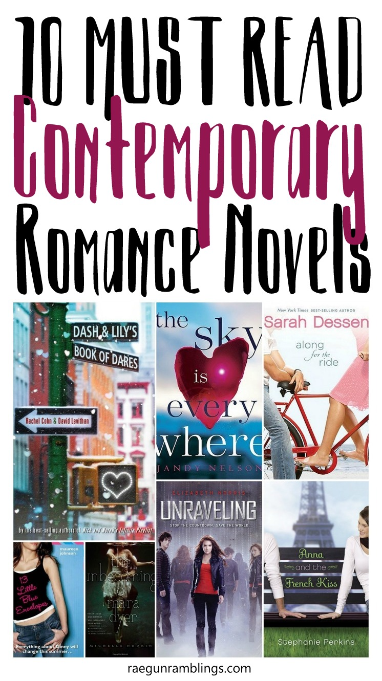 Young adult contemporary romance novels. Great for holiday and Summer reading lists.