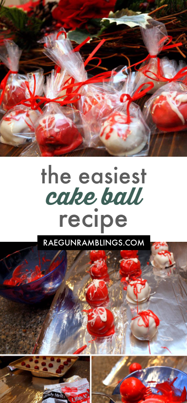 The easiest cake balls