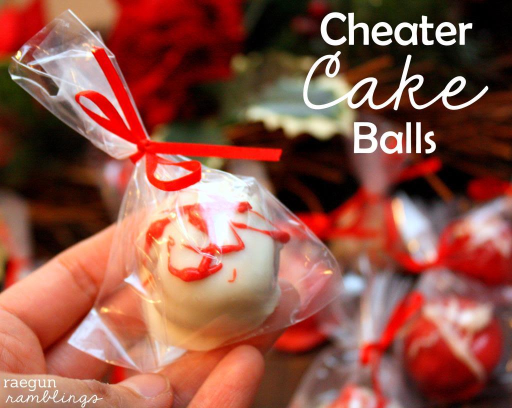 Cheater Cake balls