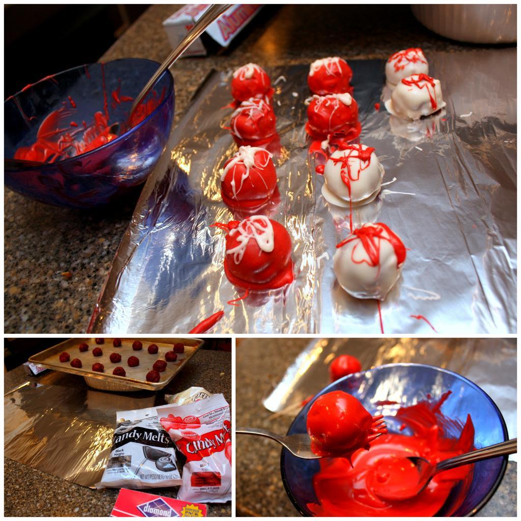 Easy cake balls