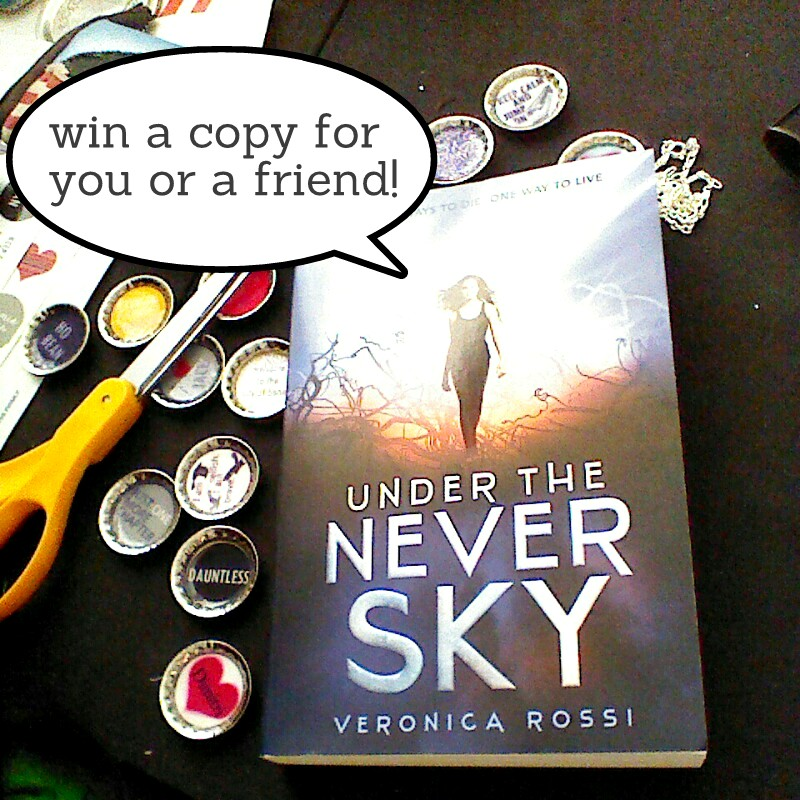 Under the Never sky book