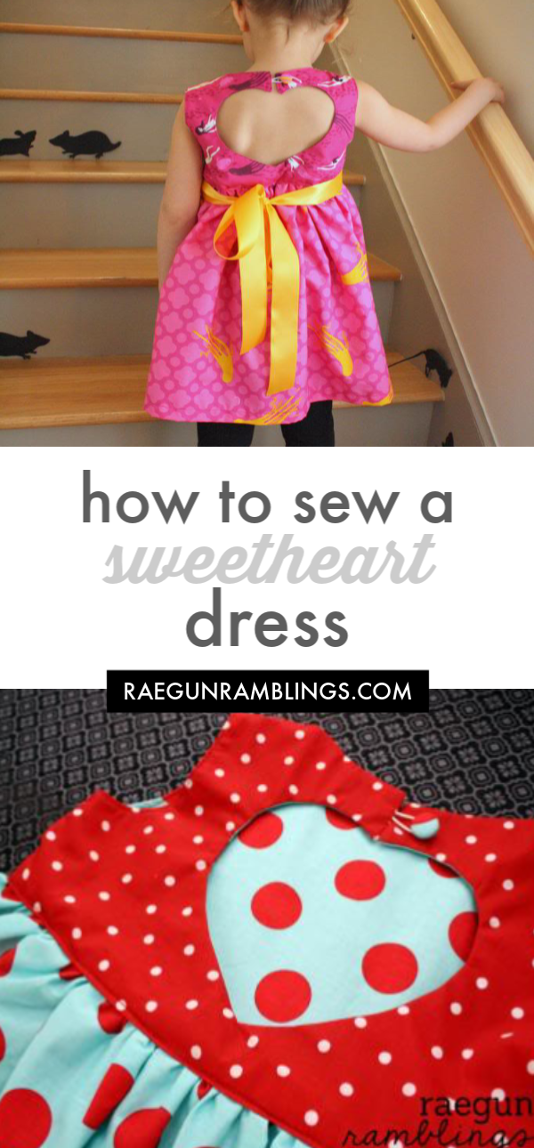 how to sew a sweetheart dress