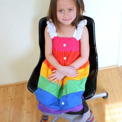 K.I.D.S Miss T's Original Designed Rainbow Dress