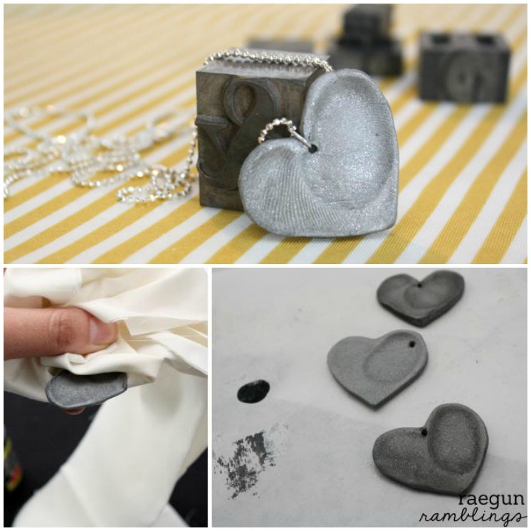 Tutorial double fingerprint heart necklace rae gun ramblings this fingerprint pendant would make a great mothers day gift if you make it with kid solutioingenieria Choice Image