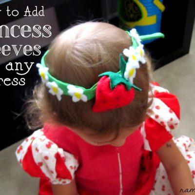 Tutorial: Two-tone Princess Sleeves