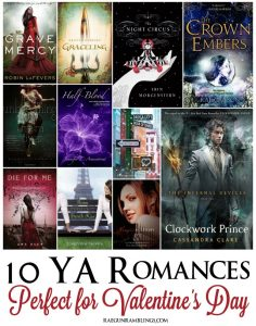 10 Young Adult books perfect for Valentine's Day that grown ups will love too - Rae GUn Ramblings