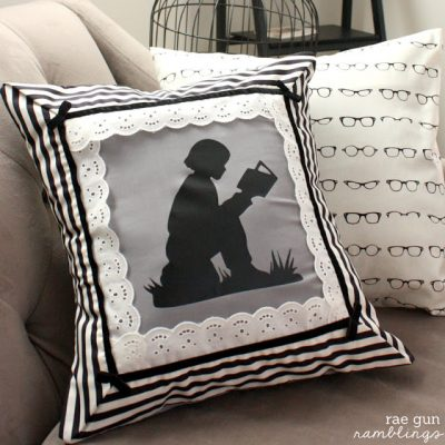 Night Circus Book Lover Pillowcase Tutorial