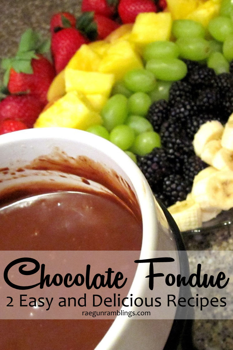 Super good. Tried one of these recipes tonight can't wait to try the other. Easy chocolate fondue. Yummy and easy dessert idea.