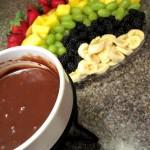 rainbow fruit chocolate fondue-001