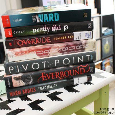 Top Ten Books On My Spring Reading LIst
