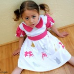 Cinderella T-Shirt Dress-001