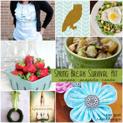 Spring Break Survival Craft Ideas