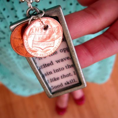 The Ward Penny Necklace, Book, and Tutorial