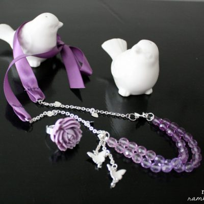 Ombre DIY Statement Necklace & Ring