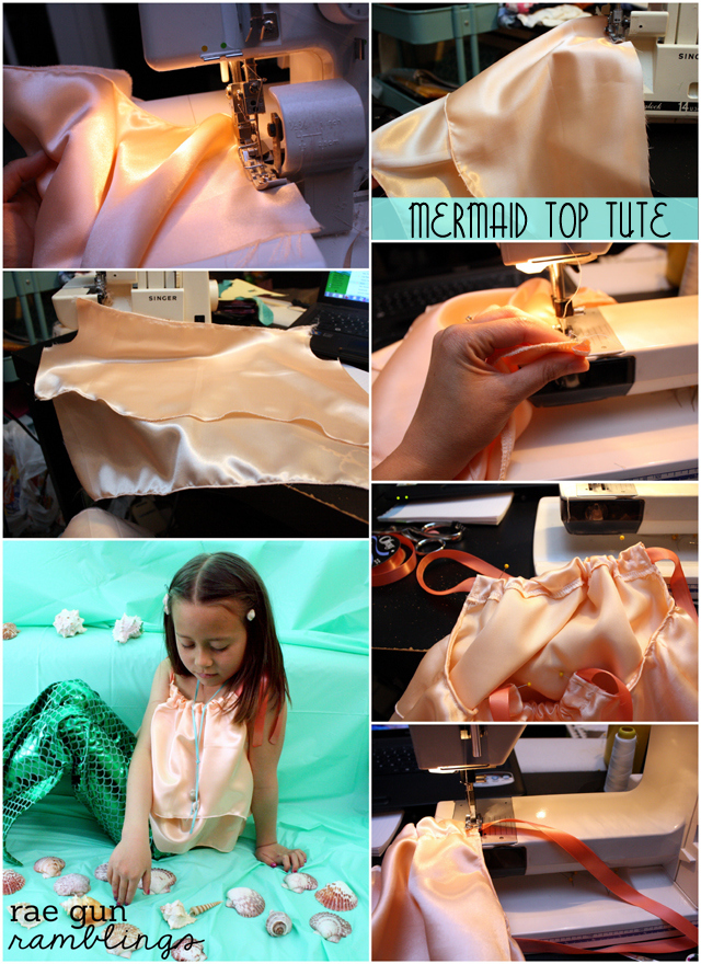 How to make a child's mermaid costume from Rae Gun Ramblings