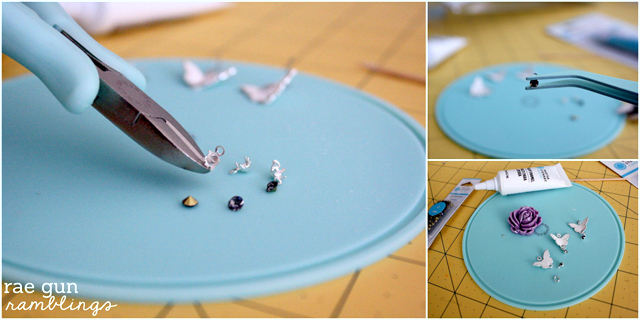Make a Ombre DIY Statement Necklace and Ring