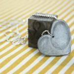 double-fingerprint necklace tutorial - Rae Gun Ramblings