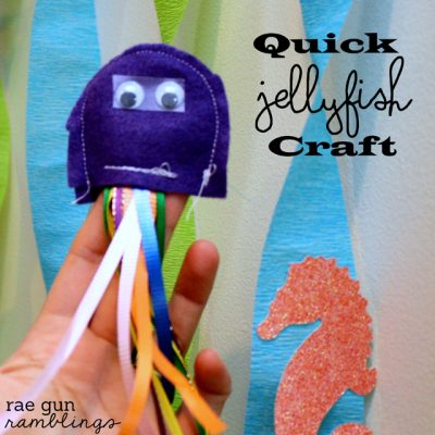 Jellyfish Kiddo Craft Tutorial