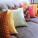 fast and easy envelope pillow case tutorial