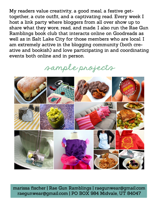 sample projects media page copy