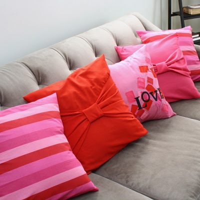 Love Pillow Case Tutorial
