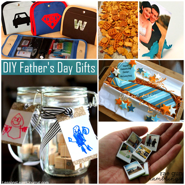 What We Wore Read And Made Link Party: DIY Father's Day