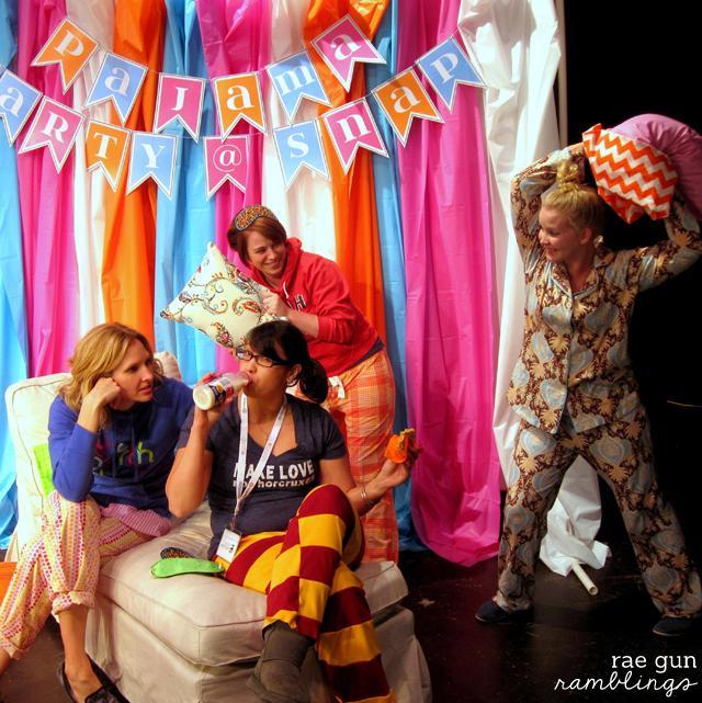Harry Potter Pajama Pants Tutorial at Rae Gun Ramblings Gryffindor Pride