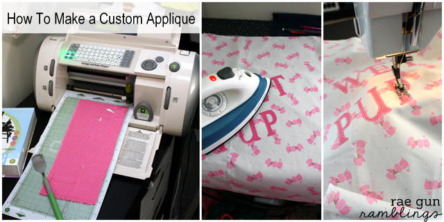 How to make custom appliques - Rae Gun Ramblings