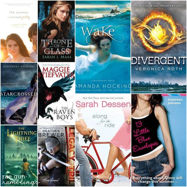 10 great YA Beach Reads at Rae Gun Ramblings