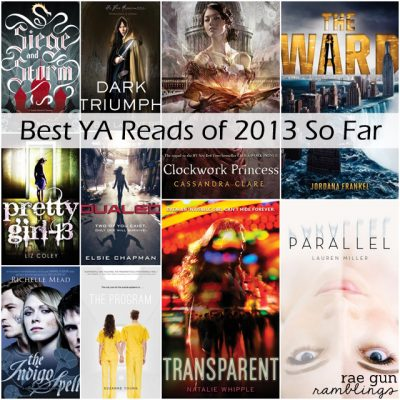 Best YA Reads of 2013 So Far